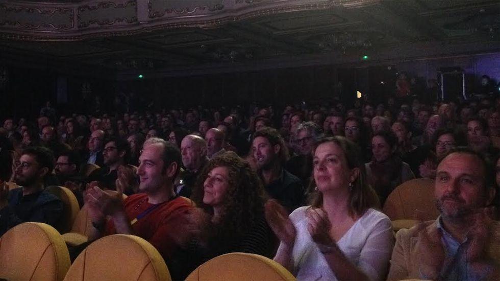 Público asistente a la gala inaugural del FICX54