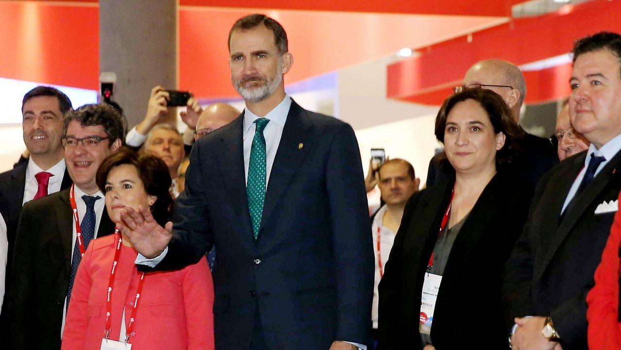 Colau desvela su conversación con Felipe VI