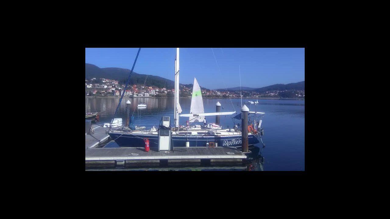 Cuarenta países conviven en Burela por el mar