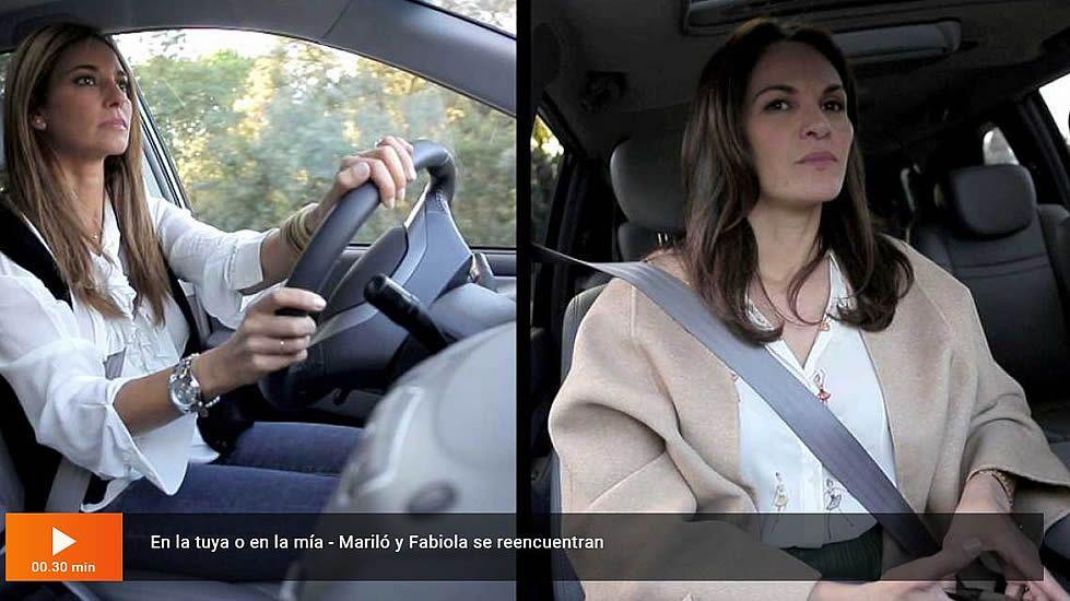 Mariló y Fabiola llegan a la casa de Arturo Fernández con gesto serio