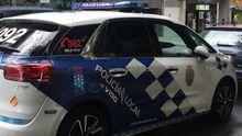 Imagen de archivo de un coche de la Policía Local de Vigo