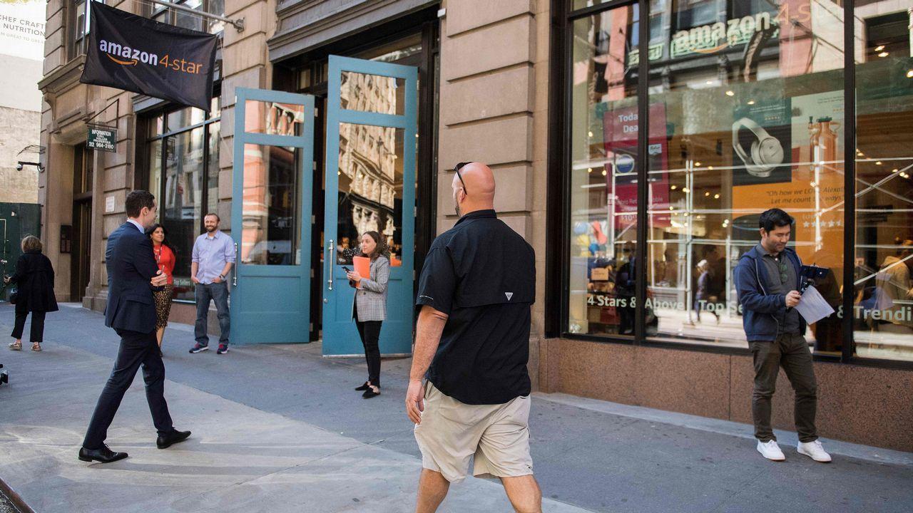 Primera tienda fisica de Amazon en Nueva York