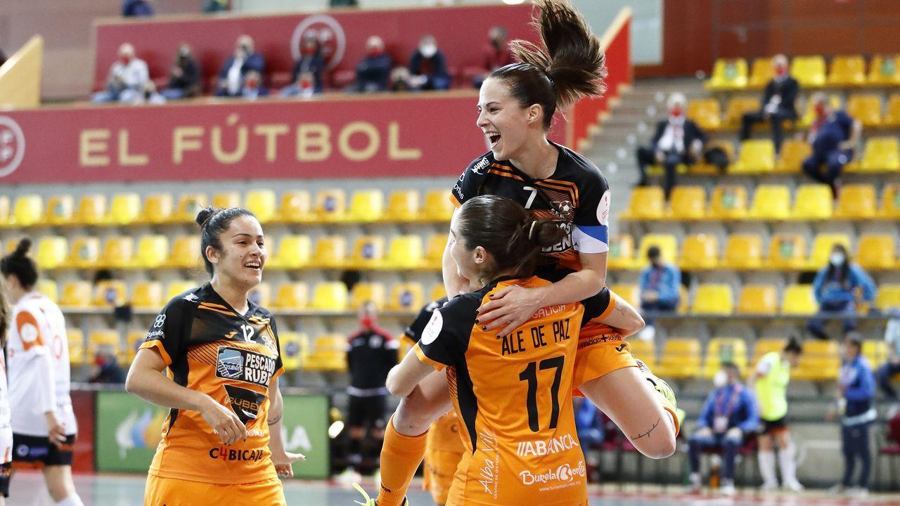 Burela recibe alas tetracampeonas de Copa.Nito Pereira, entrenador de fútbol sala