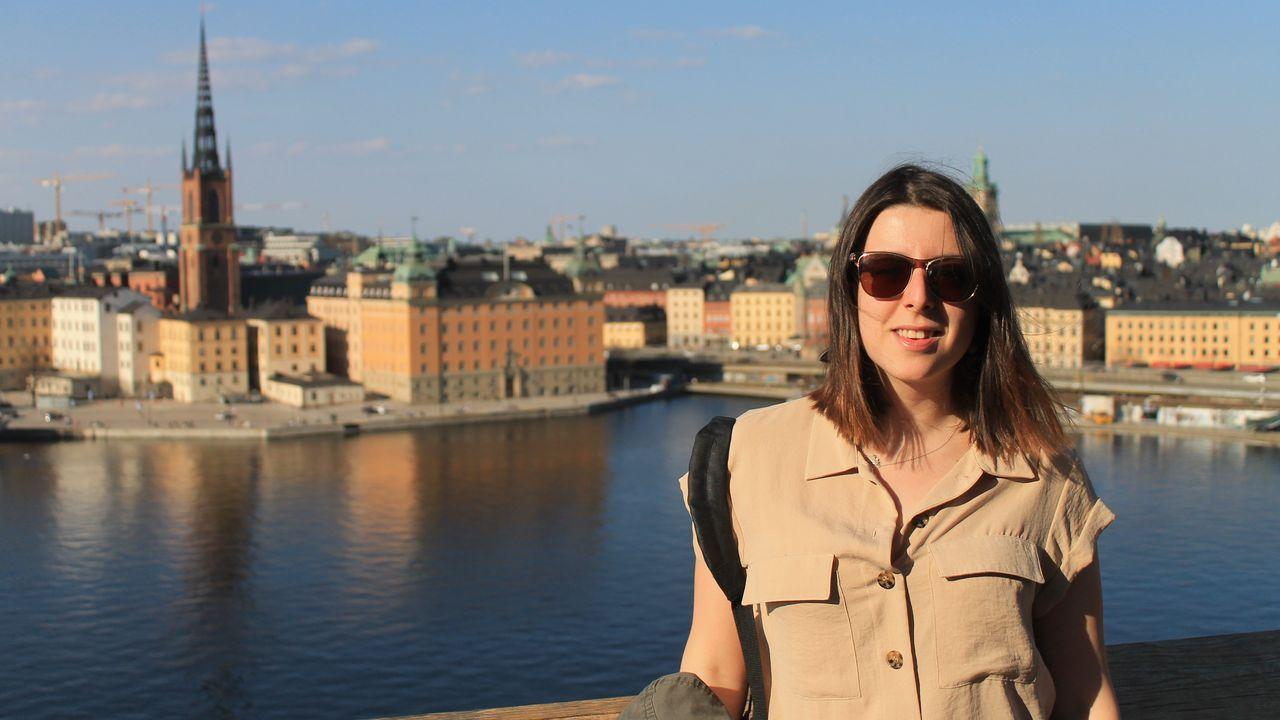 La lucense Nerea Capón vive en Estocolmo