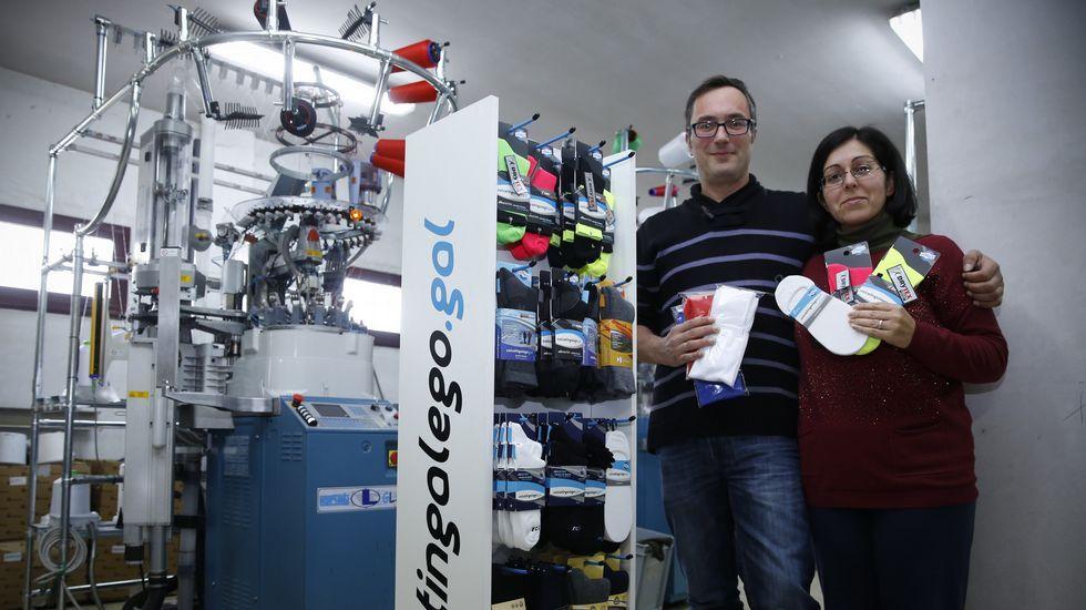El último reducto del calcetín hecho en Galicia
