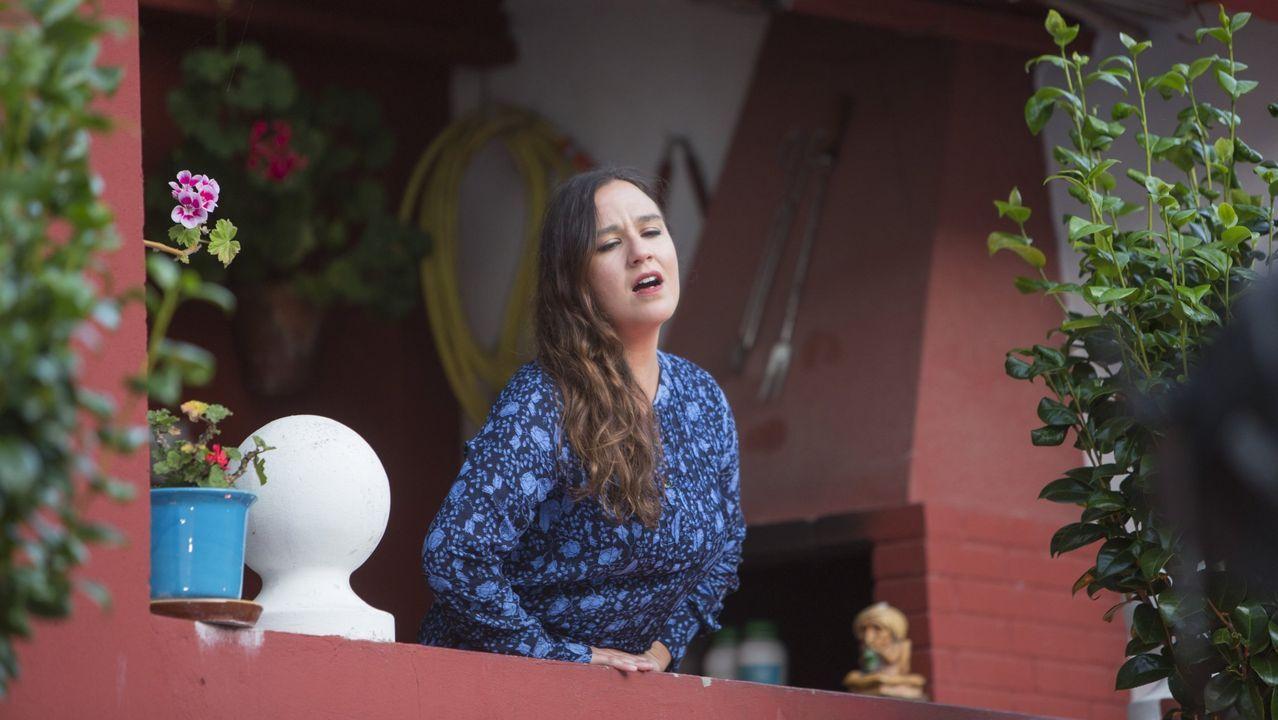 A cantante Faia Díaz, de De Vacas
