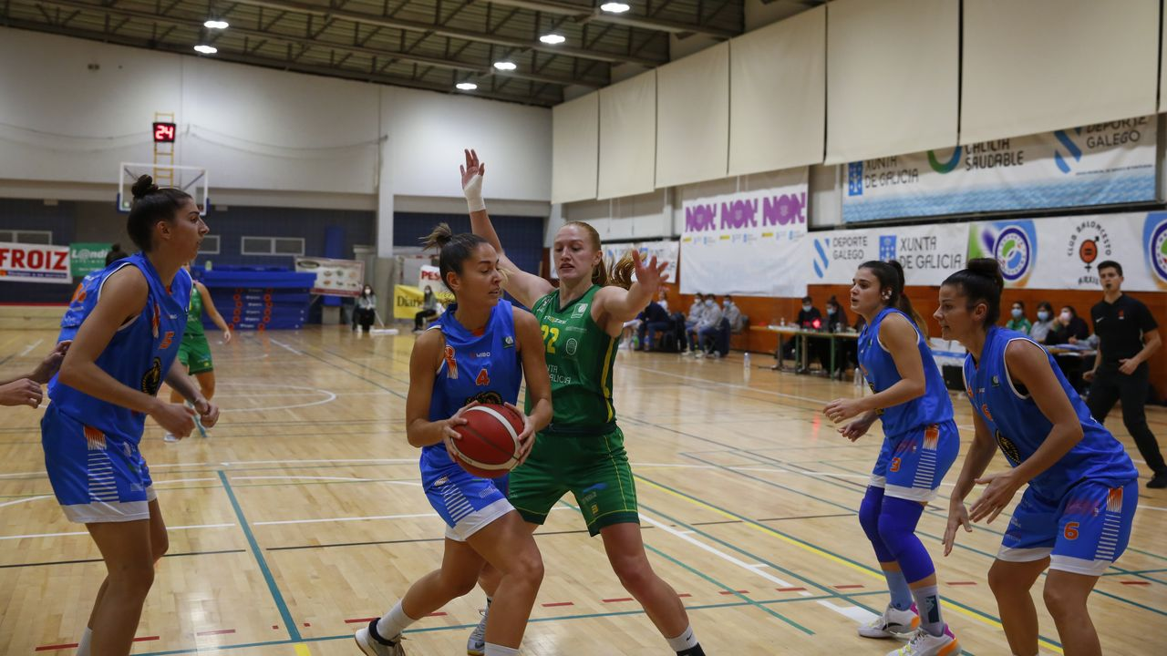 Las imágenes del baloncesto Arxíl - Adavera Tenerife