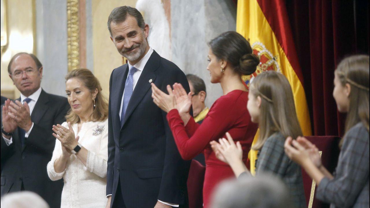 Celebración del 40 aniversario de la Constitución española, el 6 de diciembre del 2018