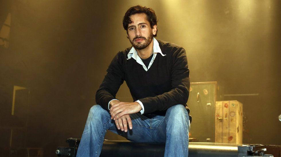 Arranca el Festival de Málaga.El actor Juan Diego Botto.