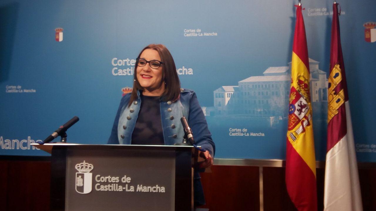 Los incendios forestales en España.Maria Diaz, secretaria de organización de Podemos Castilla-La Mancha