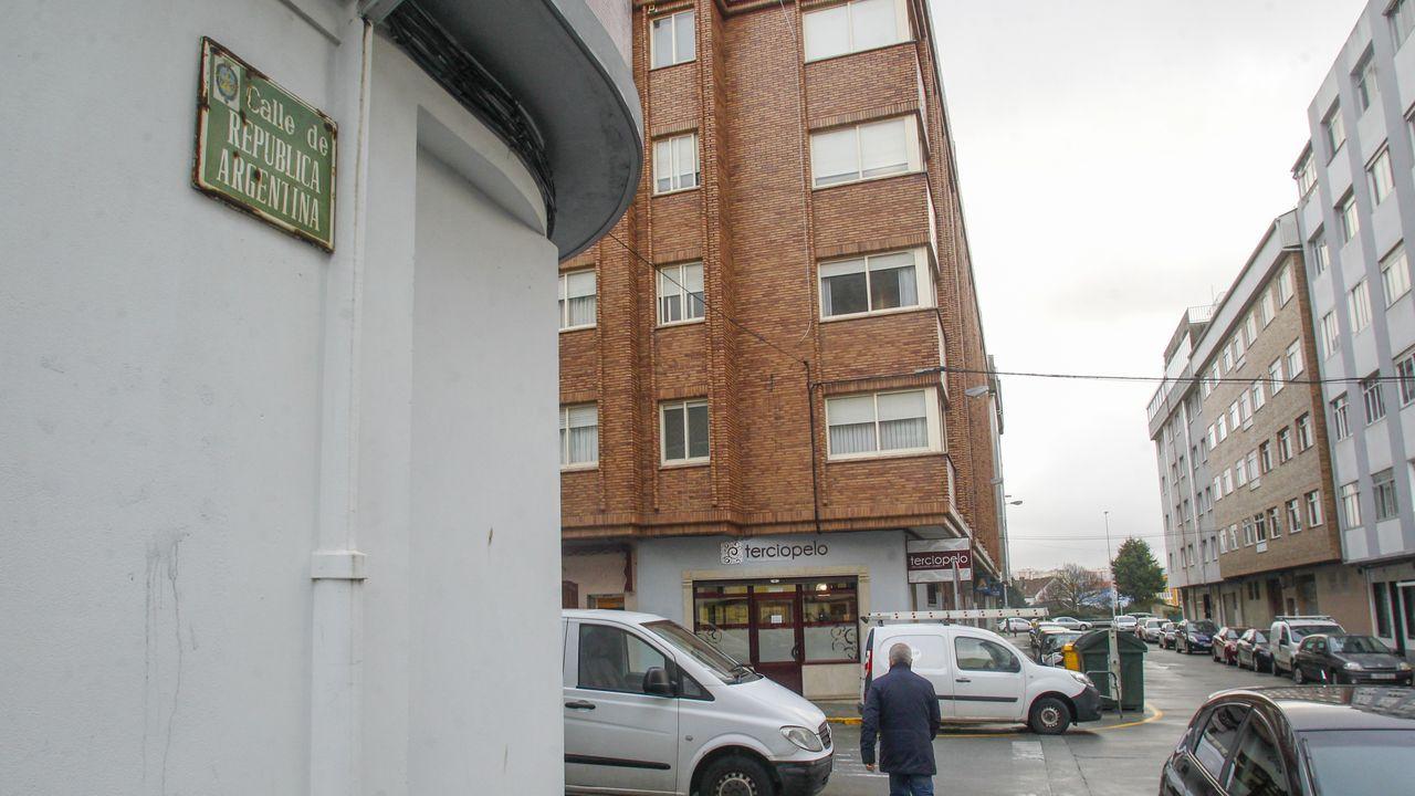 Los hechos tuvieron lugar en la calle República Argentina