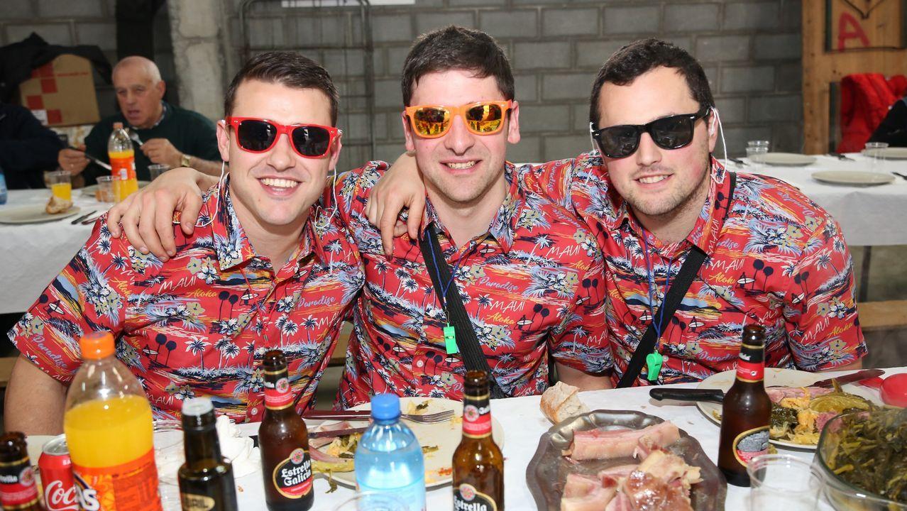 ¡Así fue el cocido de carnaval de la Sociedad Deportiva Soneira!
