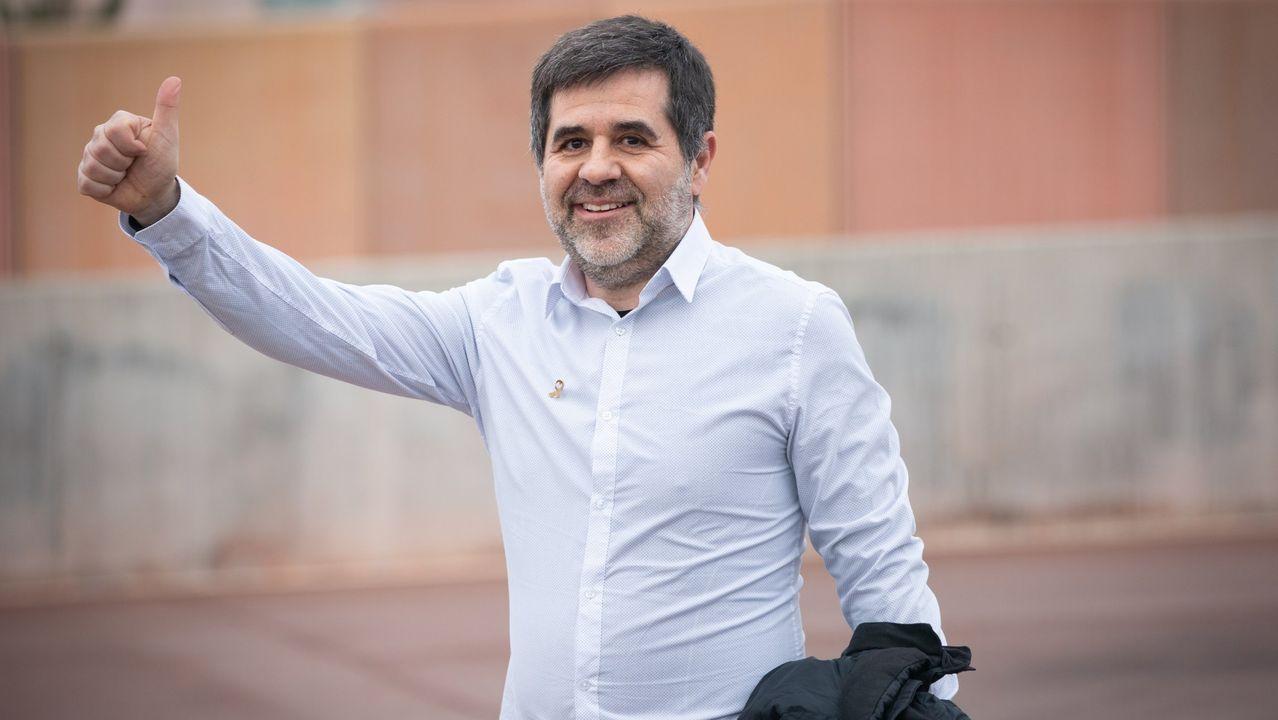 Jordi Sànchez, expresidente de la Asamblea Nacional Catalana, y condenado por el Tribunal Supremo