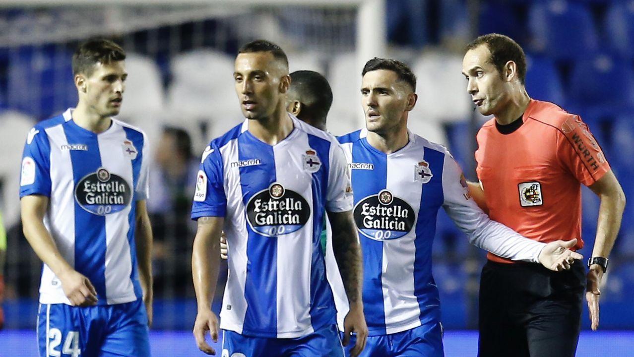 El fabrilista One y Schär ensayaron para actuar como pareja de centrales en el partido del domingo en el Bernabéu