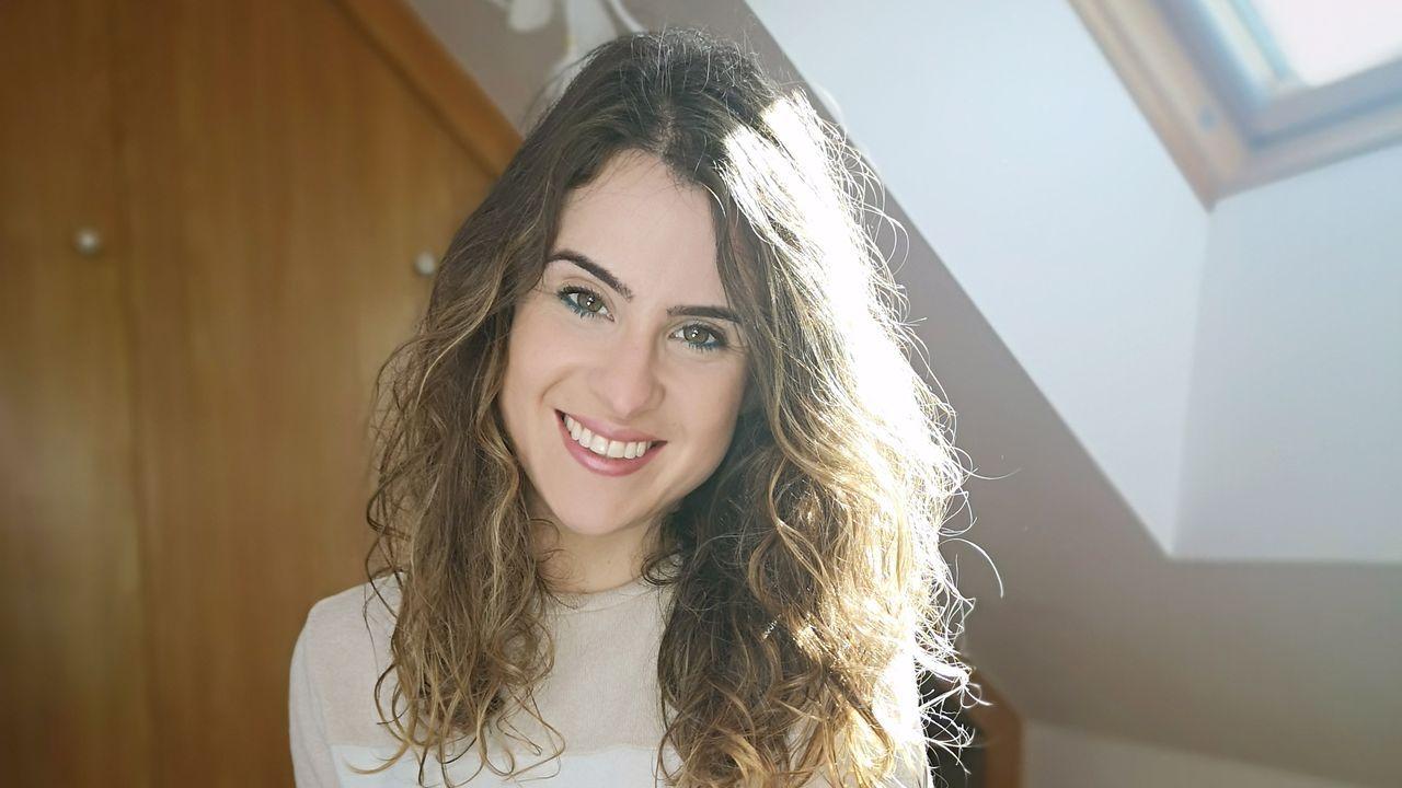 Raquel Graña (Pontevedra, 1990) vivió en Burela y ahora en Foz