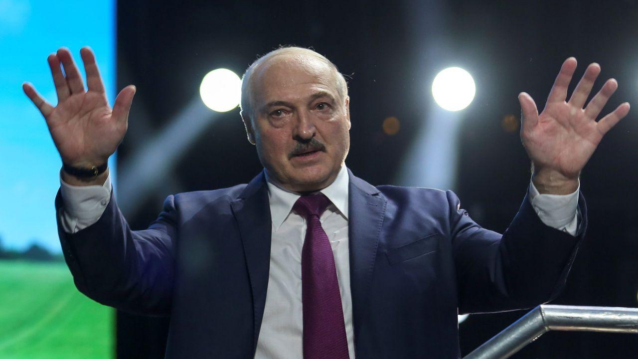 El presidente del país, Alexander Lukashenko