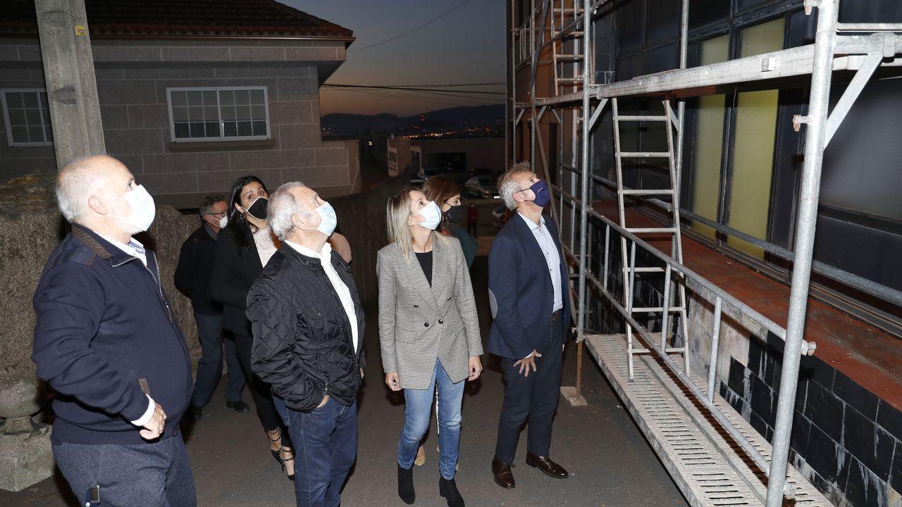 Estas son las rehabilitaciones puestas en marcha.Toma de posesión del nuevo Gobierno de la Xunta, frente al Parlamento de Galicia, a principios de septiembre