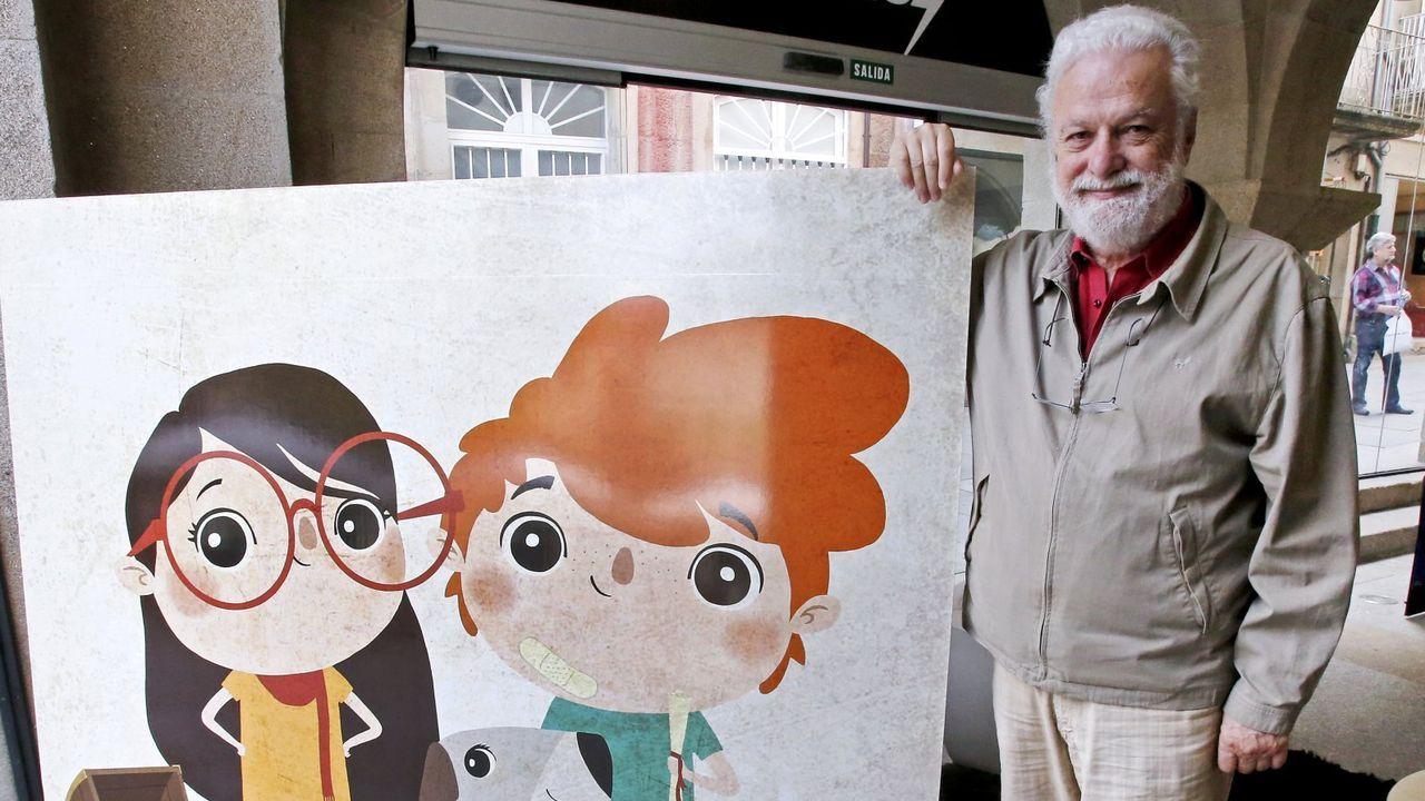 Paco Nogueiras actuará na Biblioteca Pública de Lugo o Día do Libro