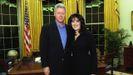 Bill Clinton con la becaria Monica Lewinski
