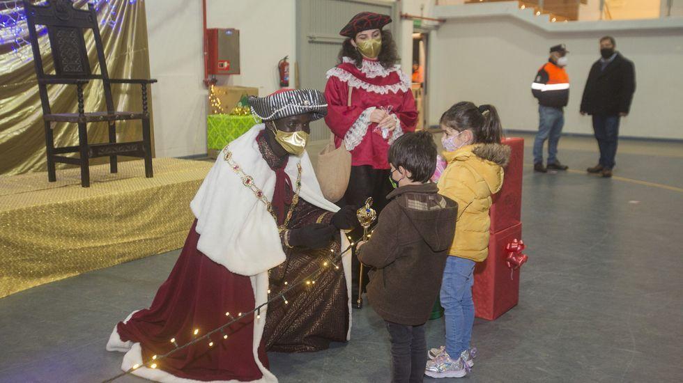 Los Reyes, en Ponteceso