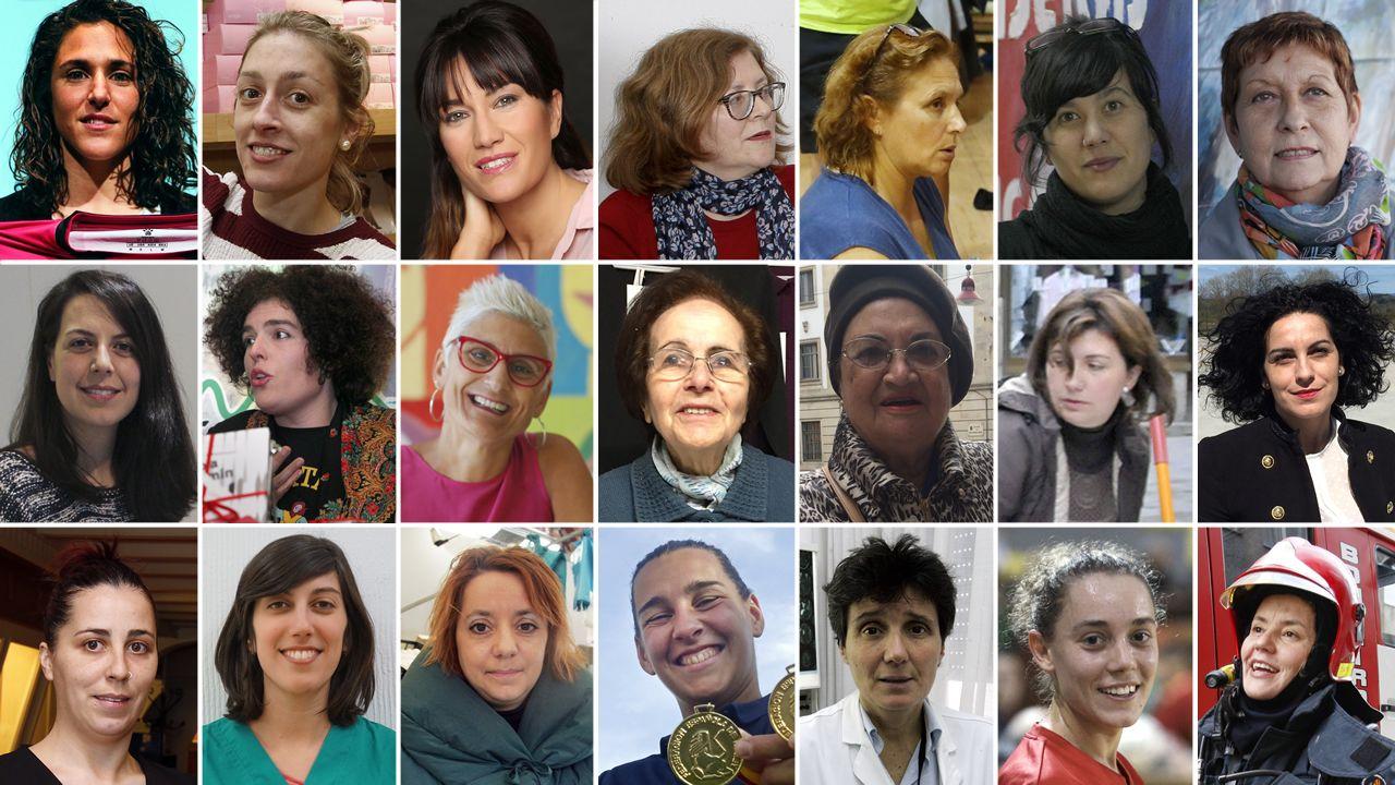 Así han vivido la desigualdad estas 21 mujeres gallegas.Albina Pedraza