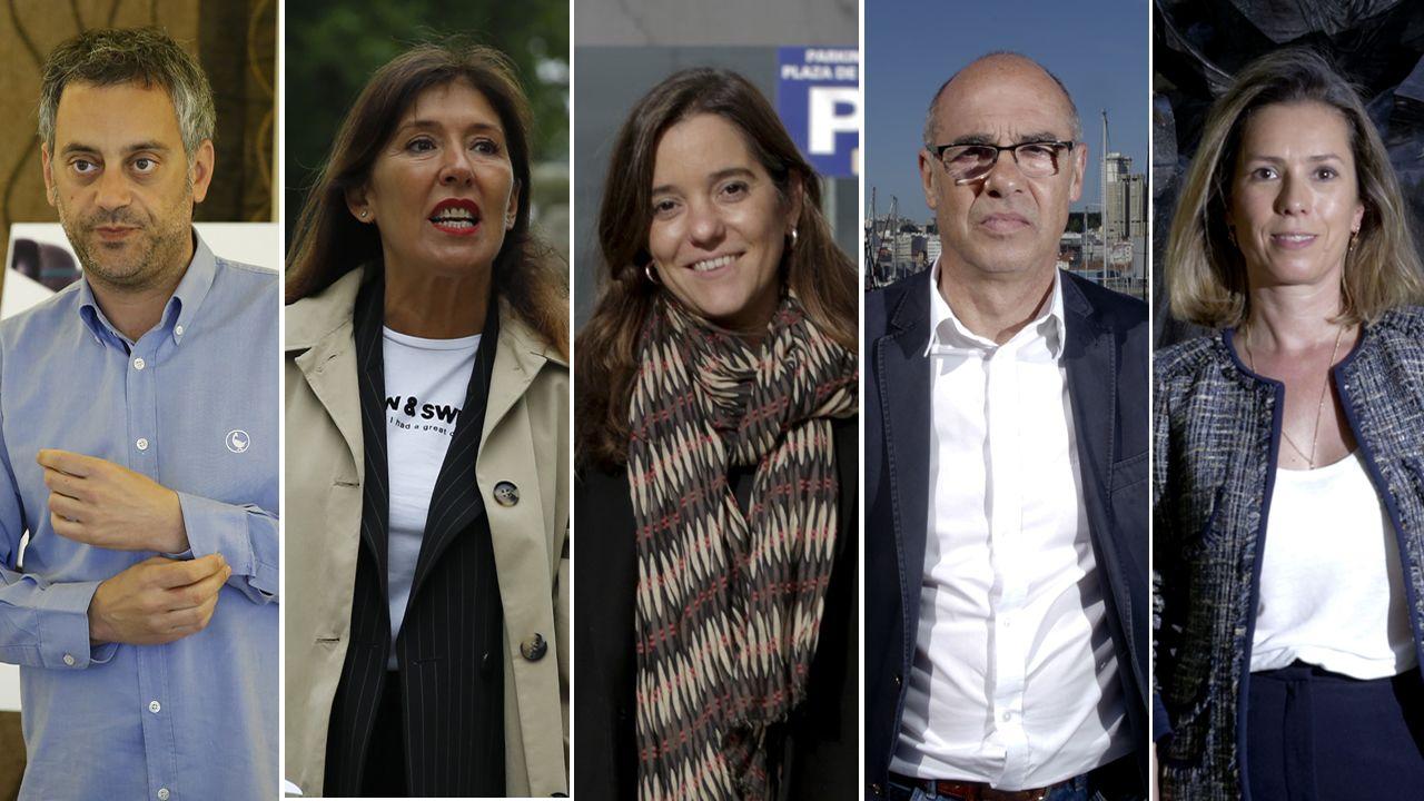 Así fue el debate definitivo de los candidatos a la alcaldía de A Coruña
