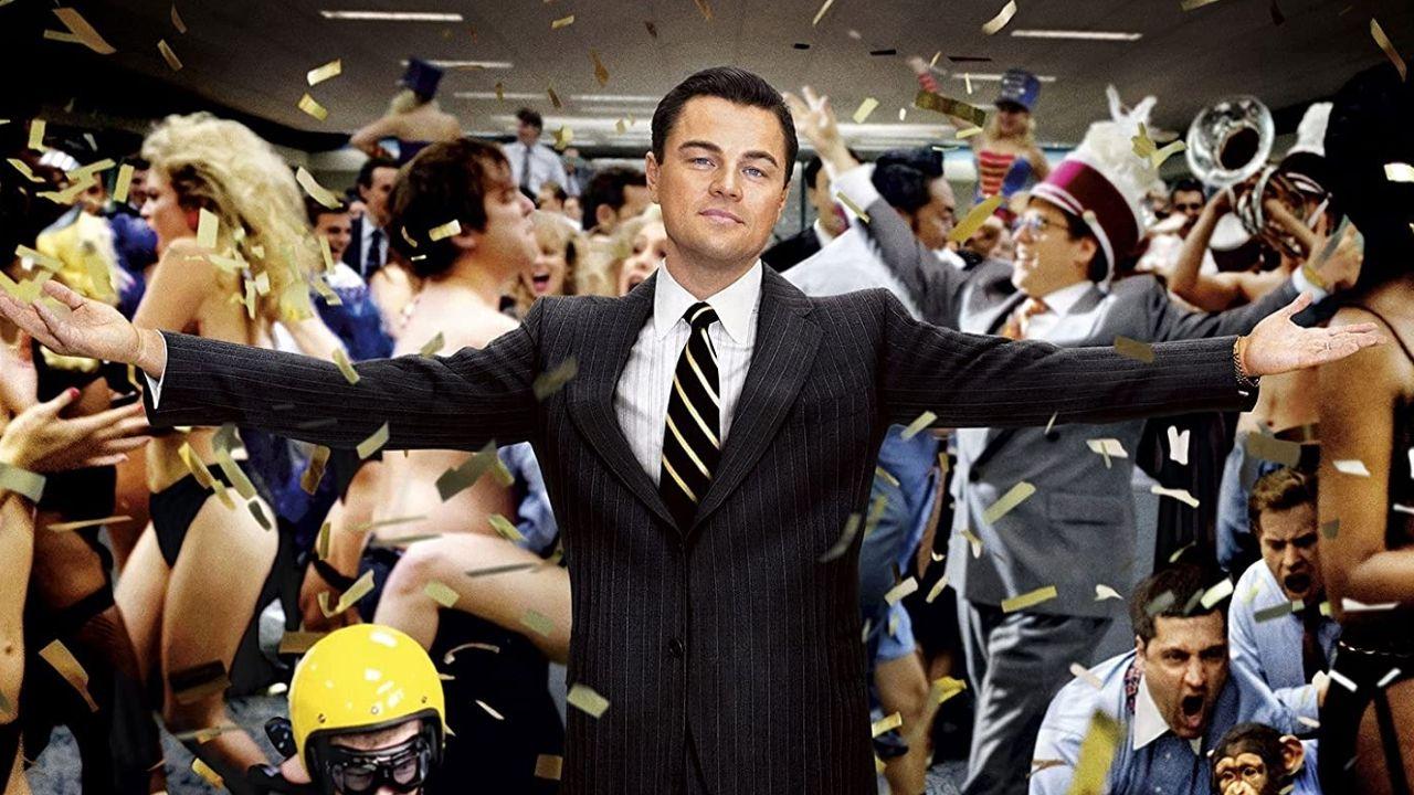 Leonardo DiCaprio, protagonista de la película «El lobo de Wall Street», de Martin Scorsese