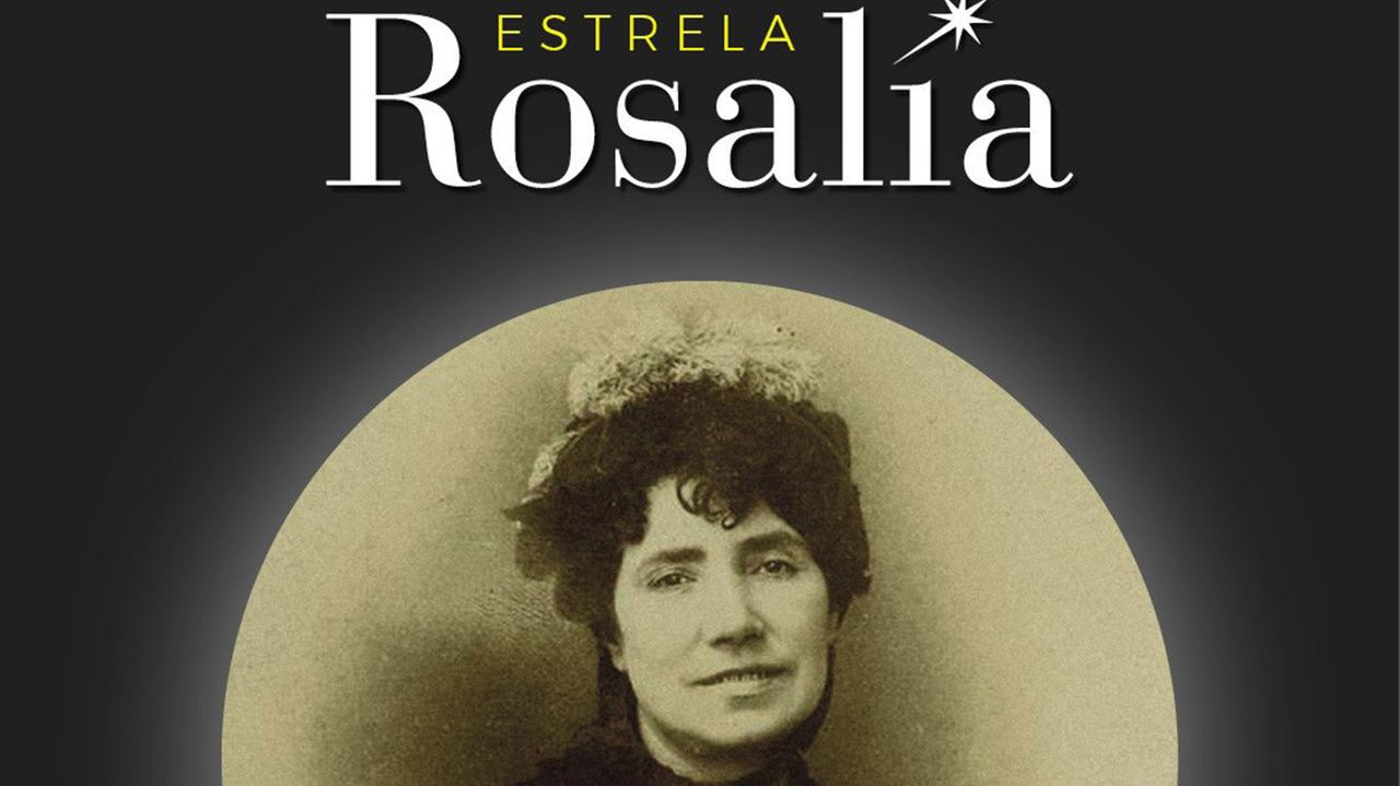 Las restricciones por la pandemia impidieron celebrar la procesión de Fátima.Imaxe de Rosalía coa que a Agrupación Ío celebrou a elección do nome da estrela