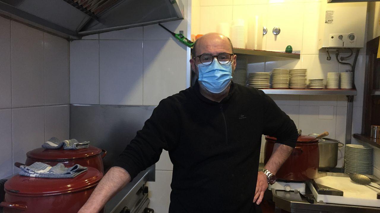 José Manuel Iglesias del bar Orellas