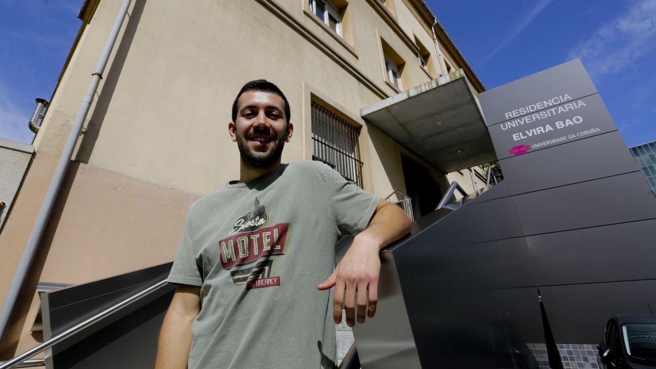 Antonio Salas se va de alta de Fátima.Preparación del centro de Patos