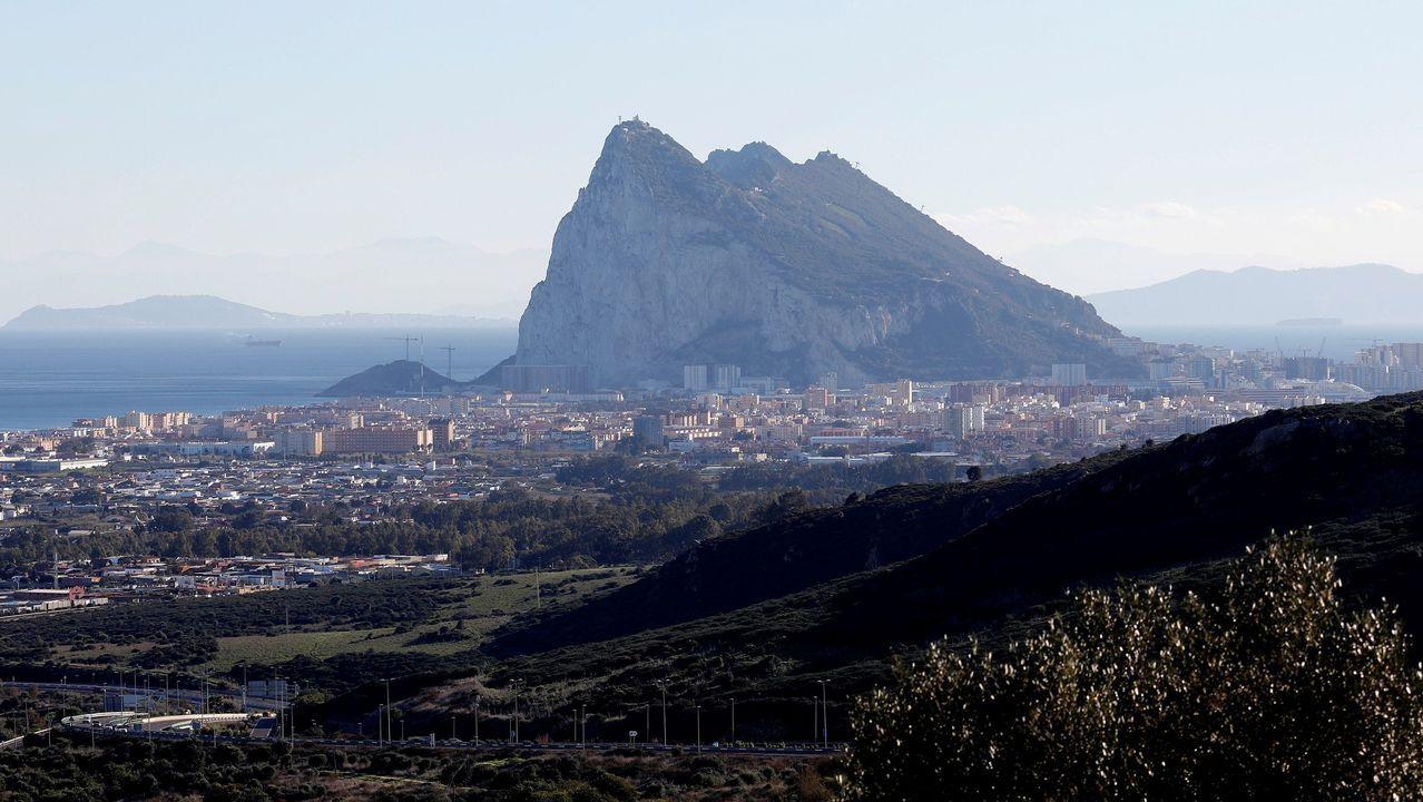 Una vista del peñón de Gibraltar, en una imagen de archivo