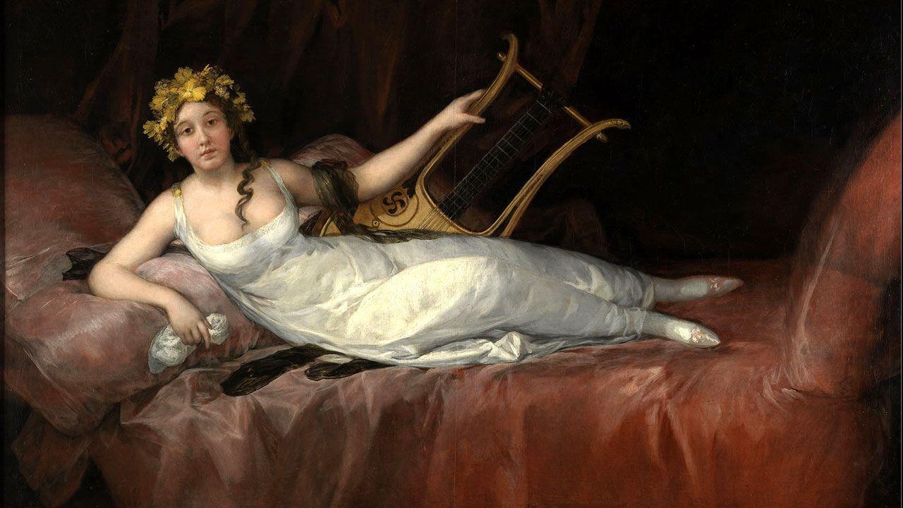 «Retrato de la Marquesa de Santa Cruz», de Francisco de Goya