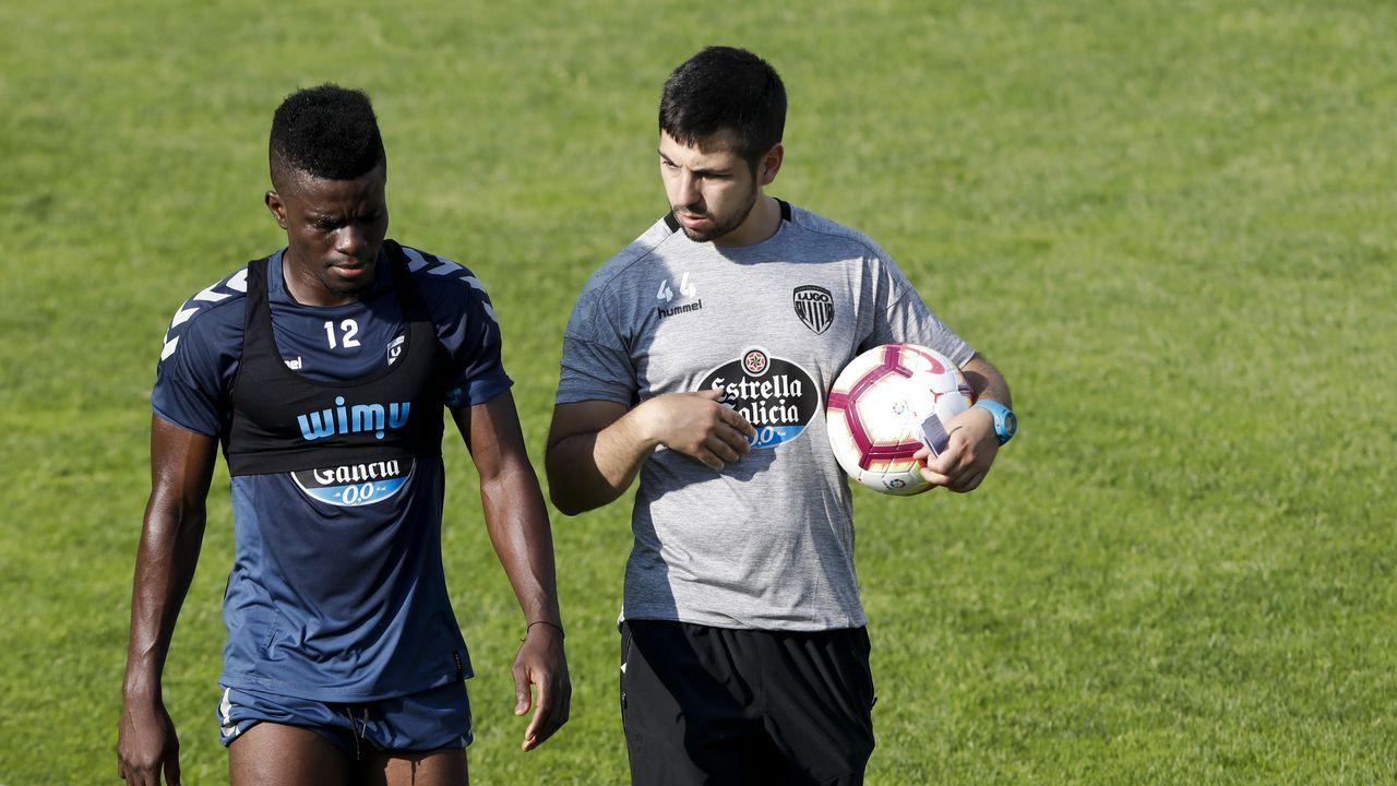 Alfonso Herrero Folch Cotugno Real Oviedo Huesca Carlos Tartiere.Joselu en un Granada-Lorca