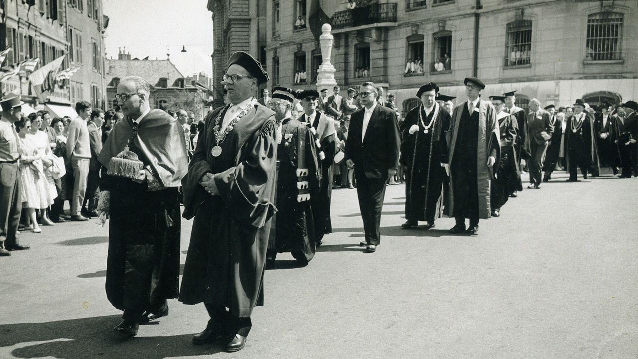 En el 400 aniversario de la Universidade de Santiago.