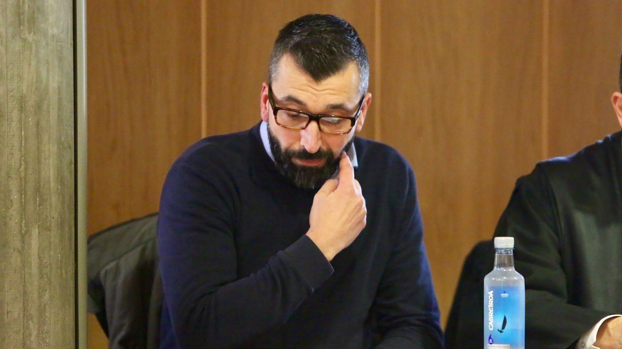 El acusado del crimen de Ana Enjamio llega a los juzgados