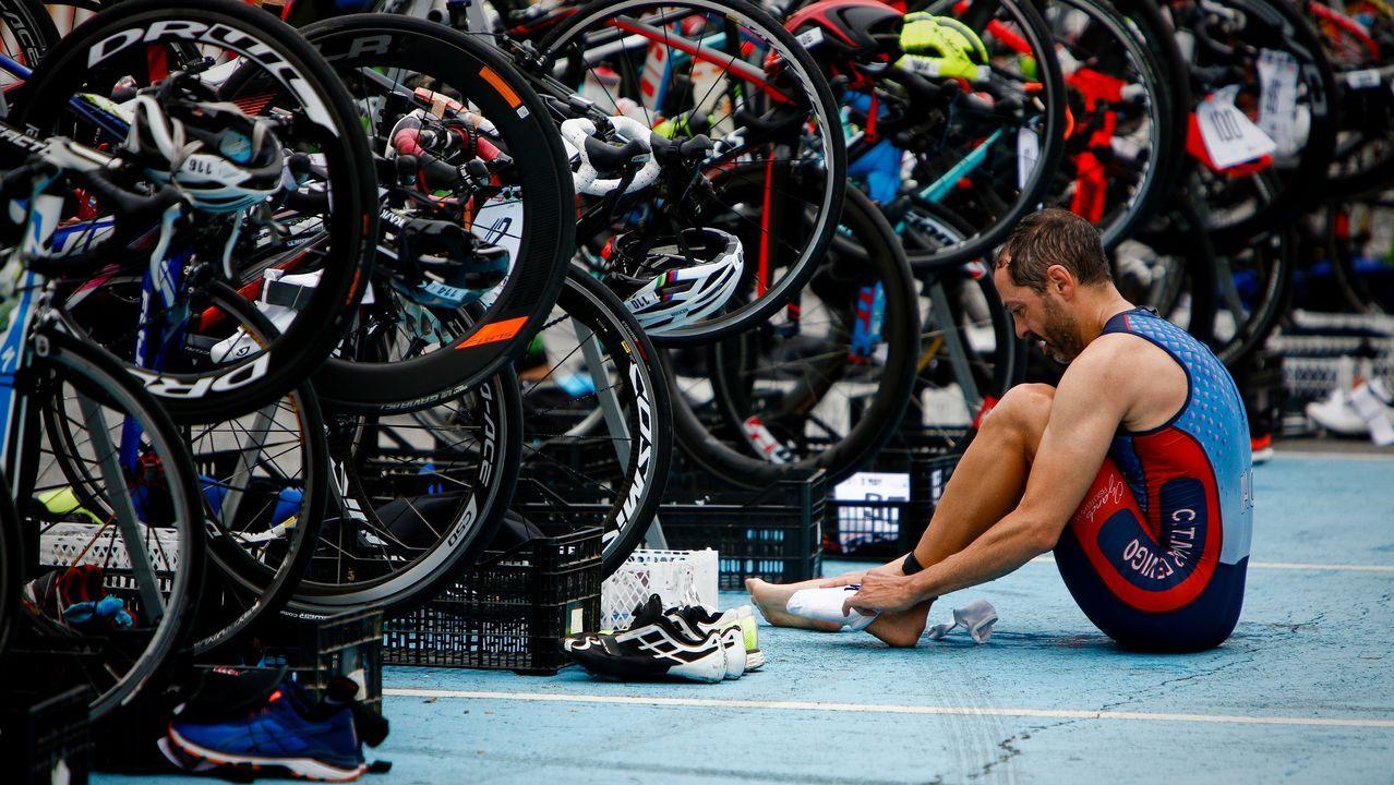 Triatlón de espíritu olímpico en Castrelo de Miño