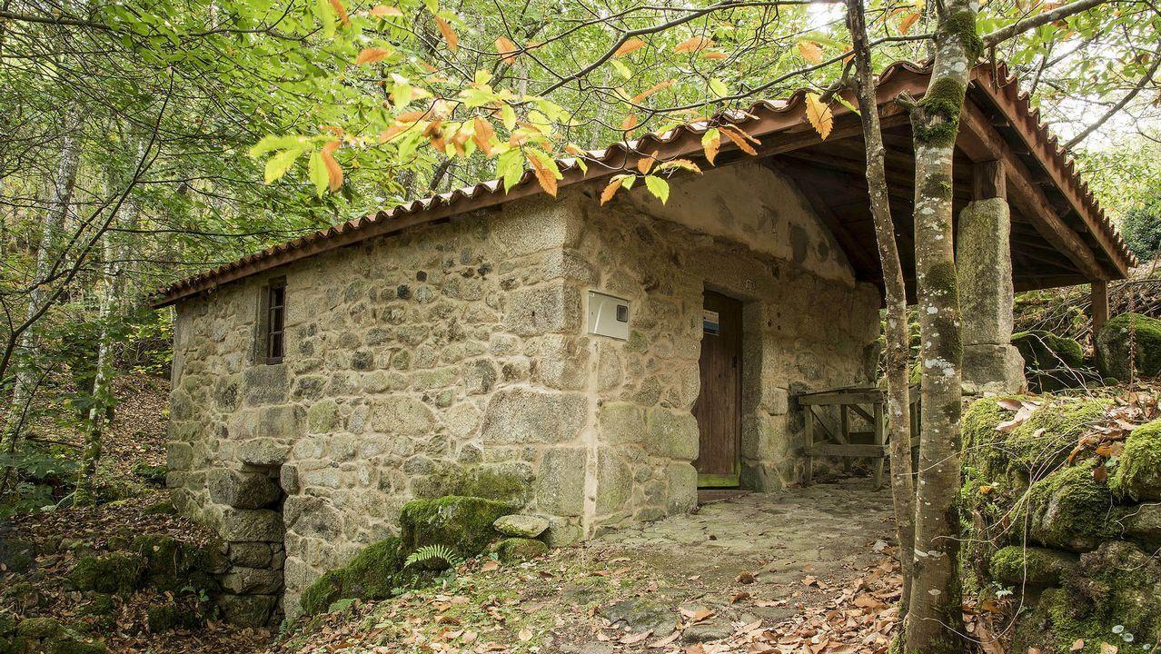 Otro aspecto del molino de abajo, restaurado en tiempos recientes