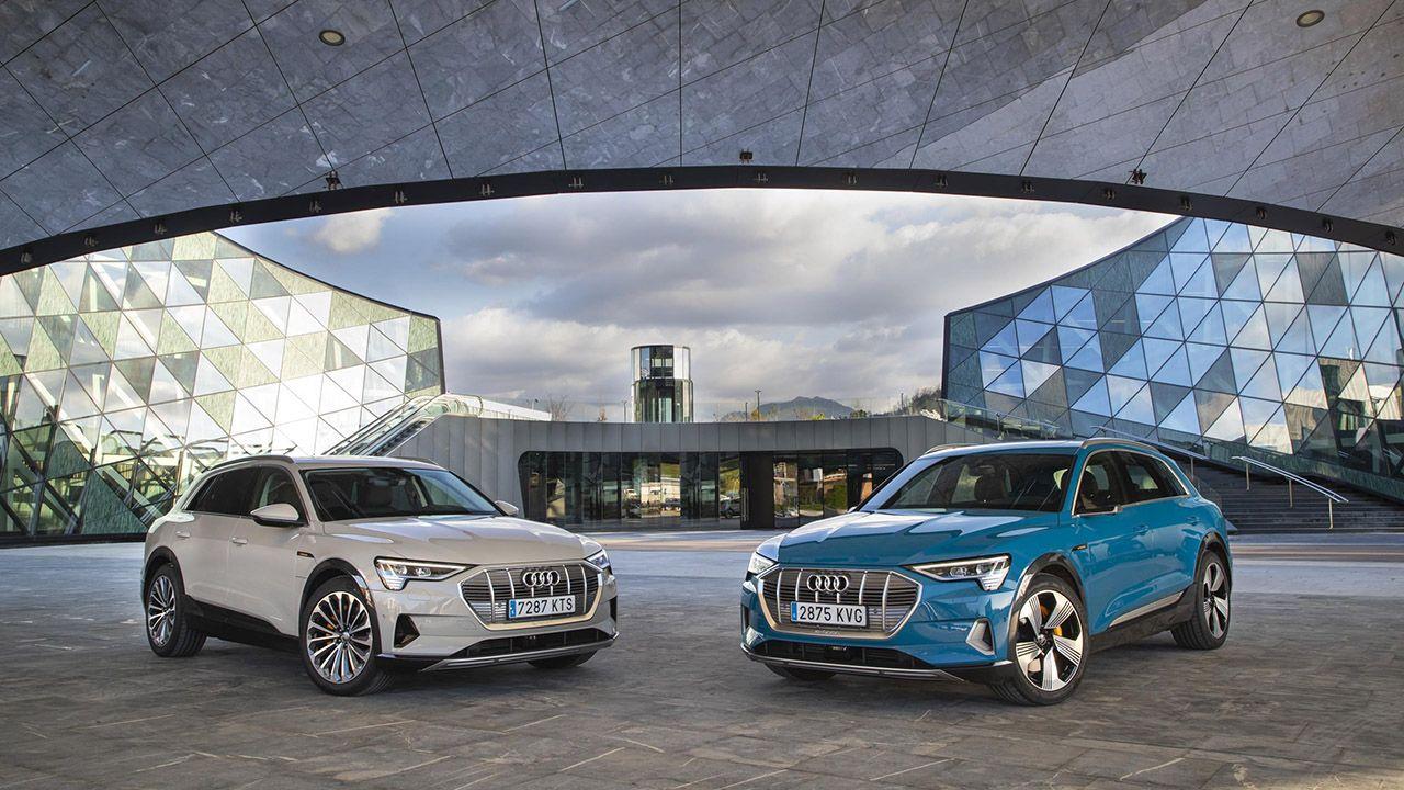 El e-tron 50 se comercializa en carrocería SUV y SUV coupé