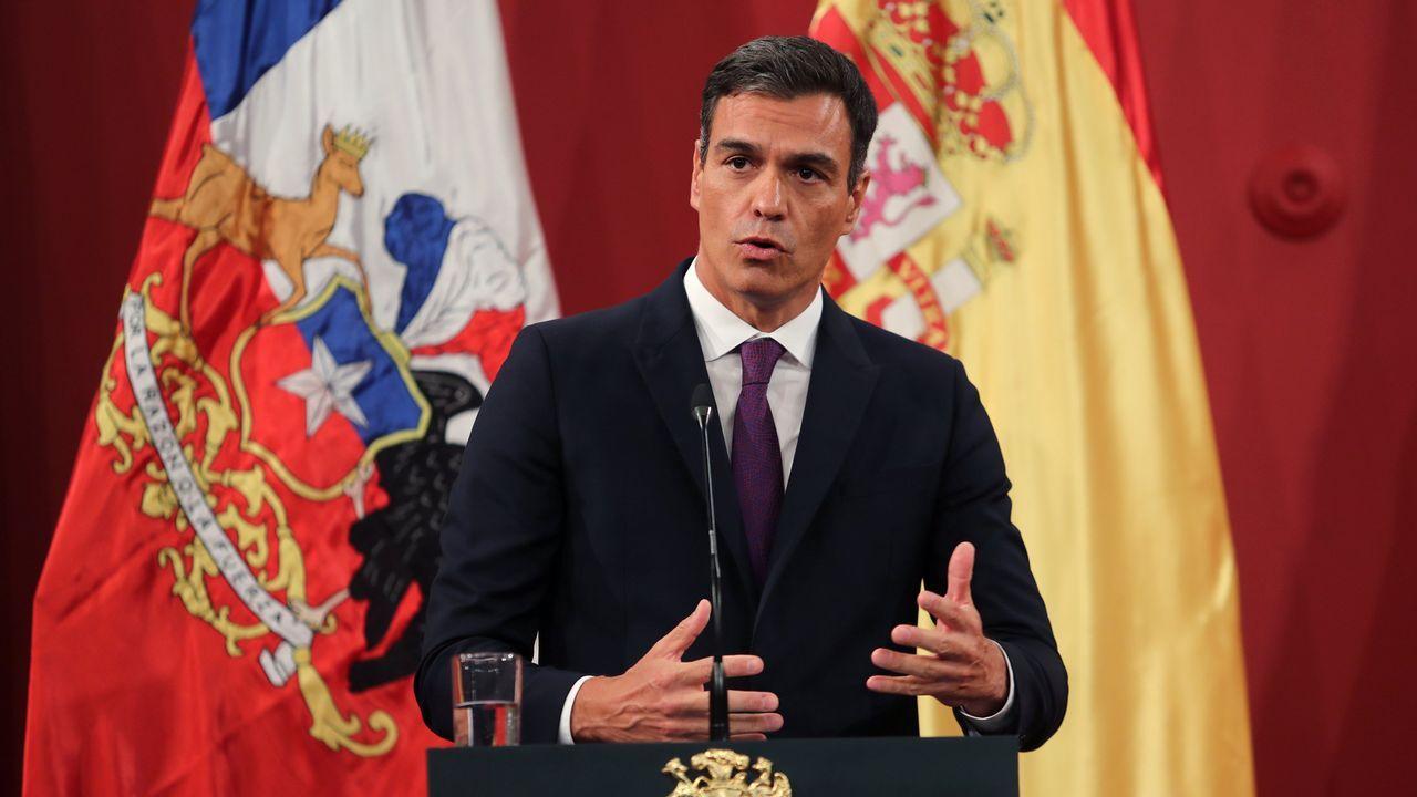 Pedro Sánchez en Chile