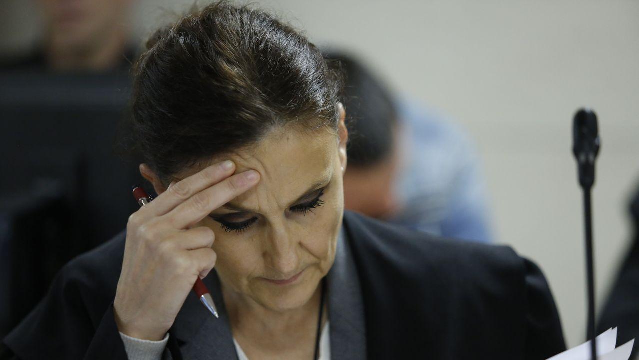 La abogada de José Enrique Abuín Gey en la novena jornada del juicio