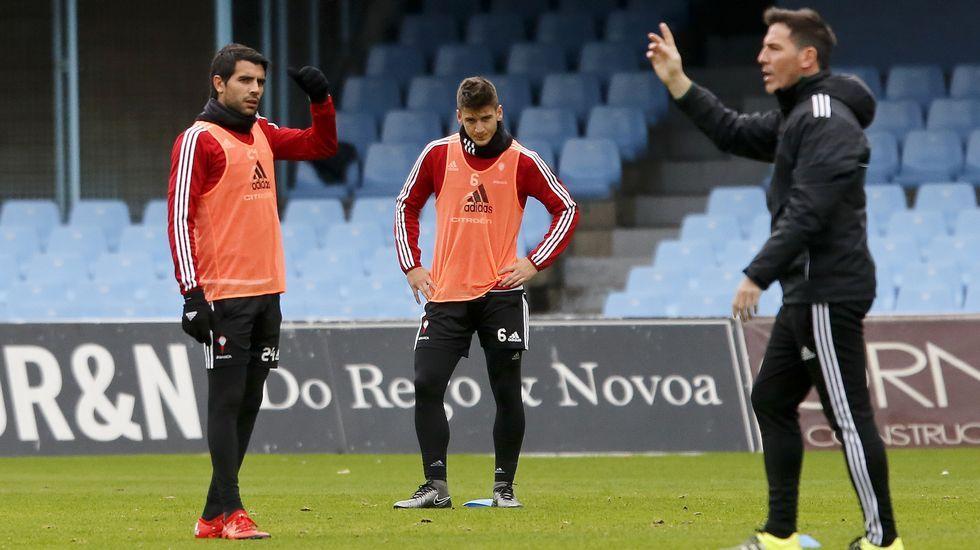 Rayo - Celta, en imágenes.Tras un año y medio en Vigo, el centrocampista serbio Nemanja Radoja concedió ayer su primera entrevista en español.