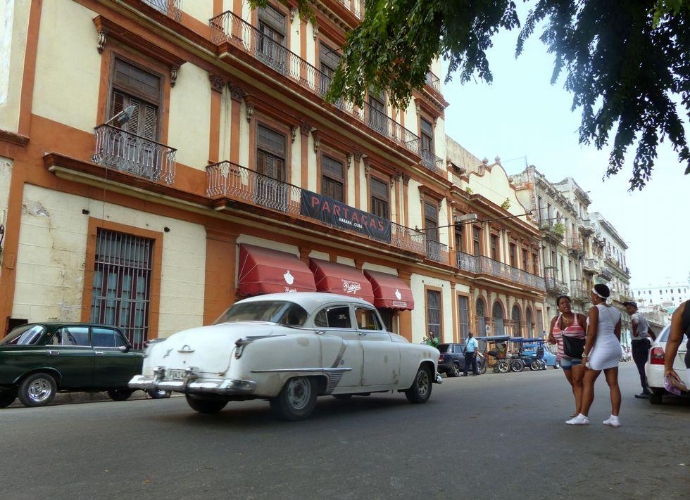 La fábrica de Partagás, en La Habana, del ortegano Francisco Pancho Pego Pita.