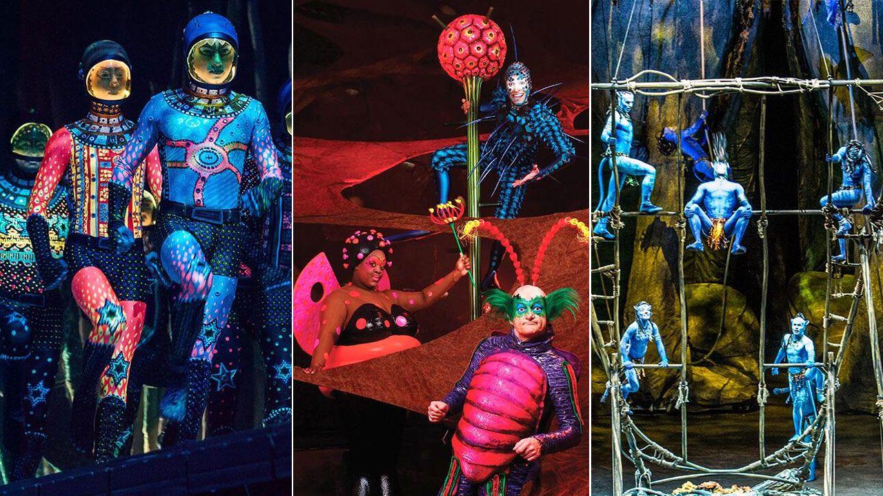 Sánchez pide un «esfuerzo extraordinario de movilización» para el 28A.Imágenes de los espectáculos «Totem», «Ovo» y «Toruk: el último vuelo», del Cirque du Soleil