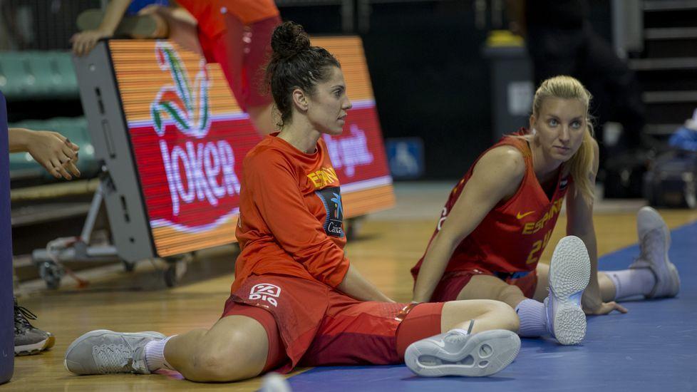 El Uni se viste de rojo: las imágenes de Bea Sánchez con la selección