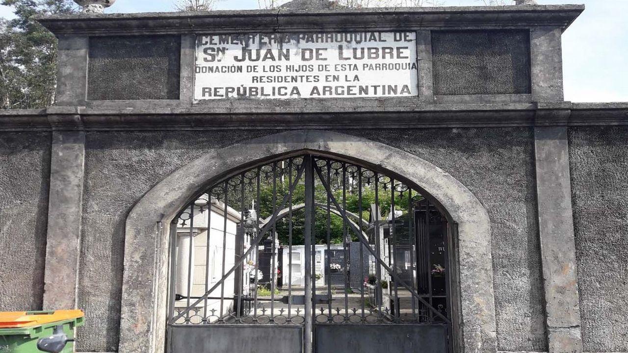 La exalcaldesa de Sobrado, horas antes de perder la presidencia del concello por una moción de censura el pasado mes de abril