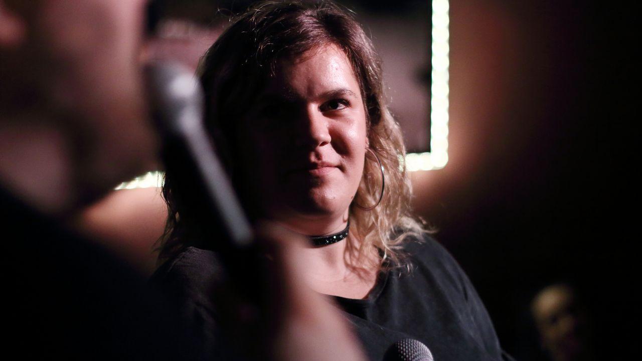 La avilesina Laura González en las audiciones a ciegas de«La Voz».Manuel Viña, de 30 días en Bici, en Poniente