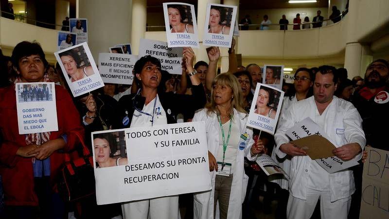El Meixoeiro se solidariza con Teresa