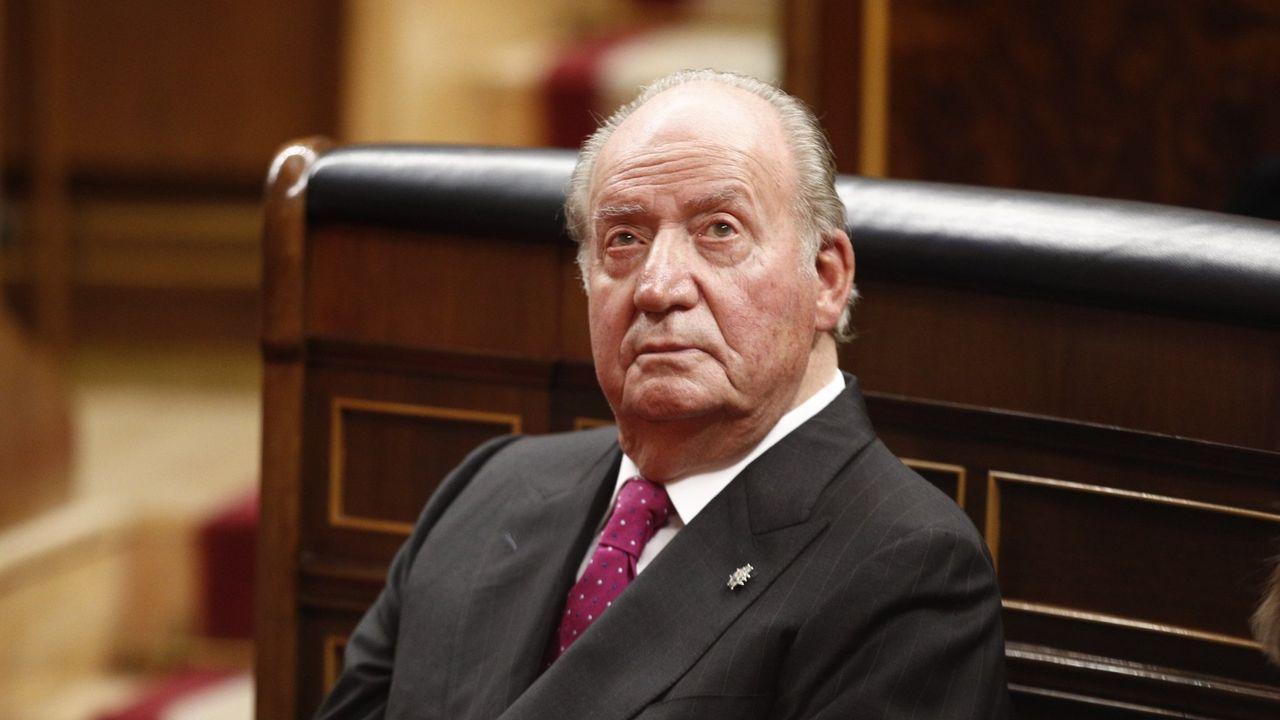 Foto de archivo del rey Juan Carlos I
