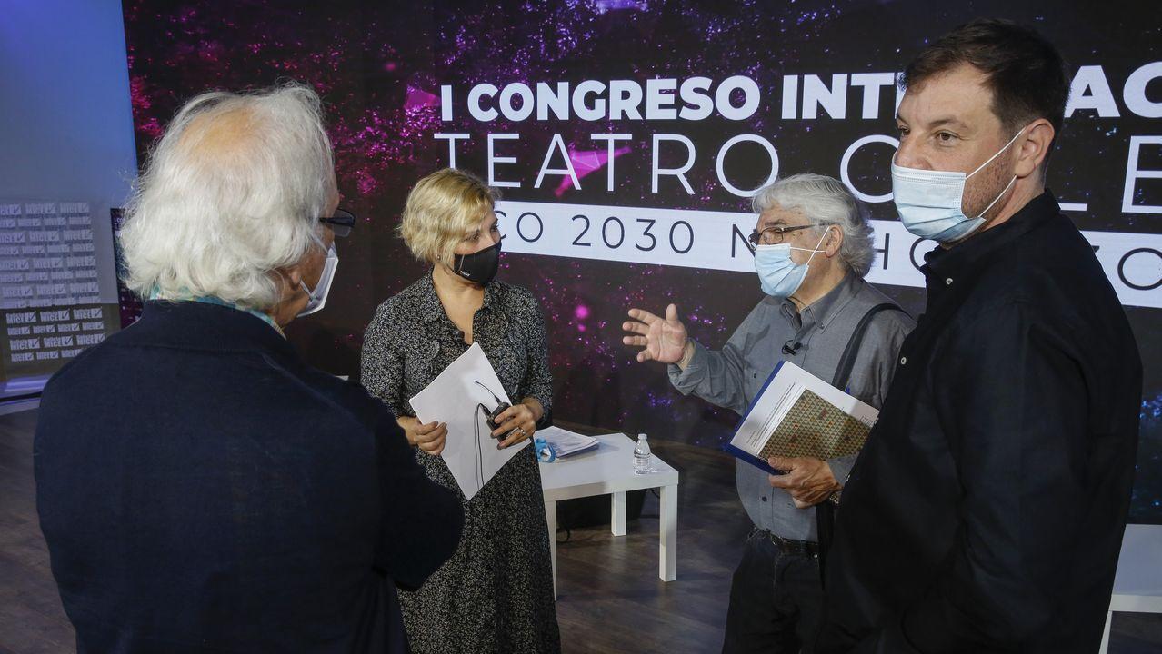 <span lang= gl >Así foi a edición máis virtual da Culturgal</span>.El Congreso do Teatro Galego se desarrollará hasta el sábado en la Cidade da Cultura