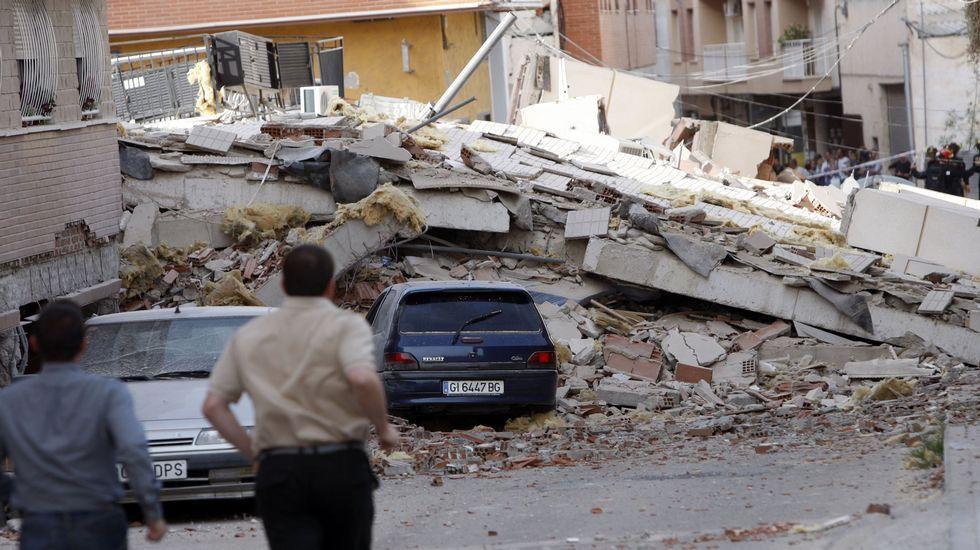 20 años después de los terremotos de Guilfrei.Efectos del terremoto de la localidad murciana de Lorca en el 2011.